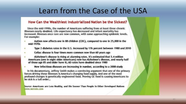 Learn from the Case of the USA 40