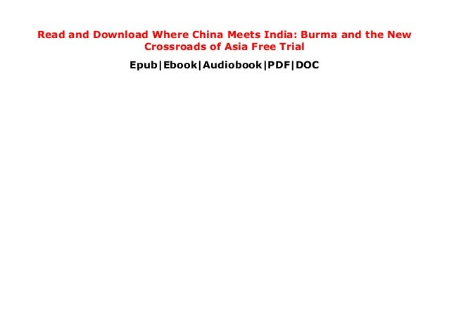 where china meets india pdf free download