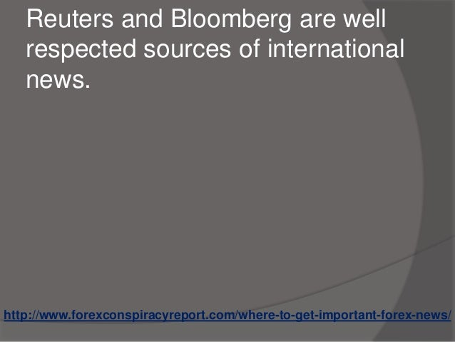 Reuters forex news