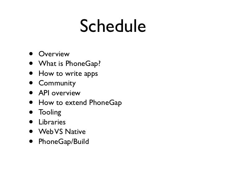 HTML5 is the Future of Mobile, PhoneGap Takes You There Today Slide 2