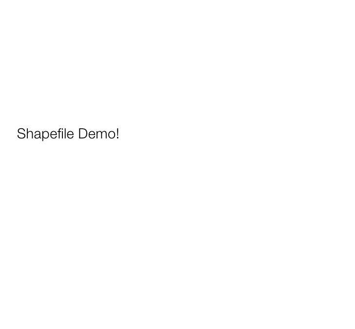 Spatialite Demo!