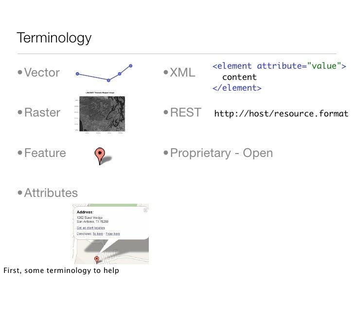 Terminology                                           <element attribute=quot;valuequot;>    •Vector                      ...