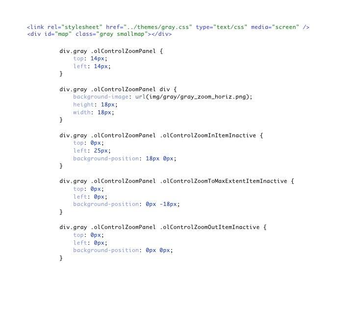 <link rel=quot;stylesheetquot; href=quot;../themes/gray.cssquot; type=quot;text/cssquot; media=quot;screenquot; /> <div id...