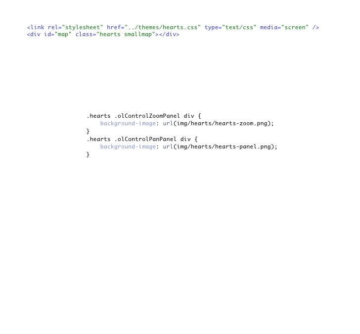 <link rel=quot;stylesheetquot; href=quot;../themes/hearts.cssquot; type=quot;text/cssquot; media=quot;screenquot; /> <div ...