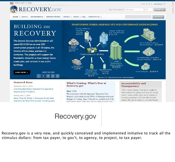 photo credits                                     Data.gov  And it's just the beginning. Data.gov will incorporate these i...