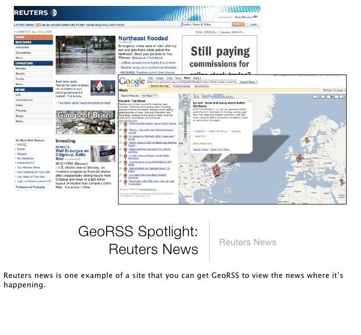 GeoRSS Spotlight:      FriendFeed