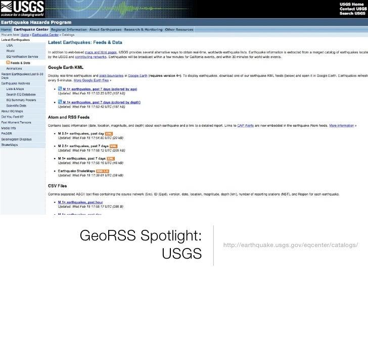 GeoRSS Demo!