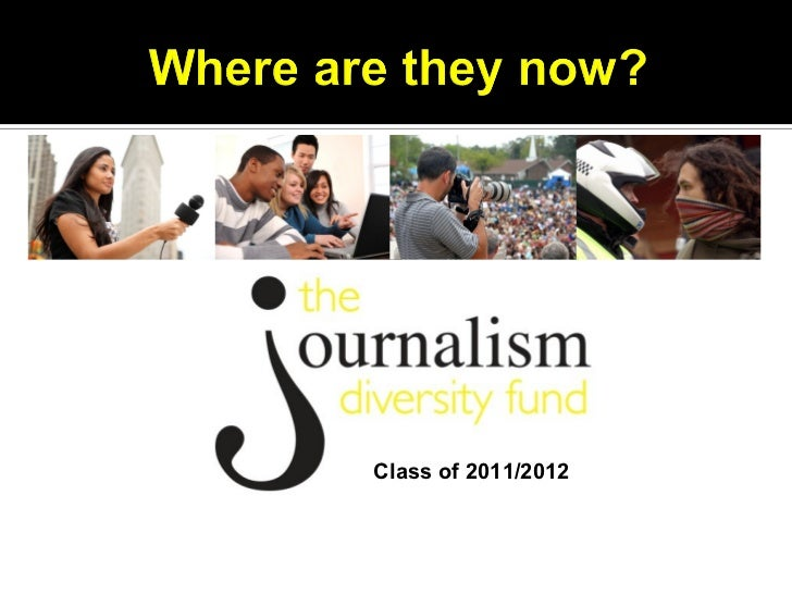 Where are they now?            Class of 2011/2012