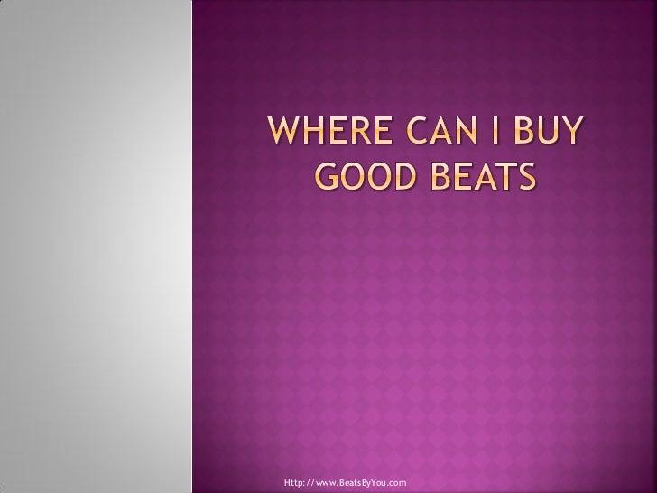 Http://www.BeatsByYou.com