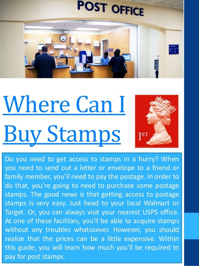 where can i buy stamps do you need to get access to stamps in a hurry