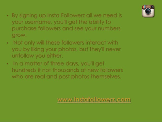 •   With so many new followers, youll grow    instant popularity on Instagram and maybe    even make it on the popular pag...