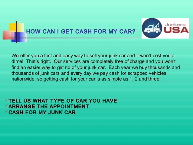 Where Can I Sell My Car: Where Can I Sell My Broken Car For Cash