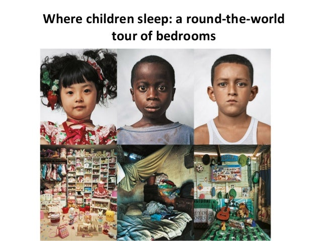 Where children sleep: a round-the-world tour of bedrooms