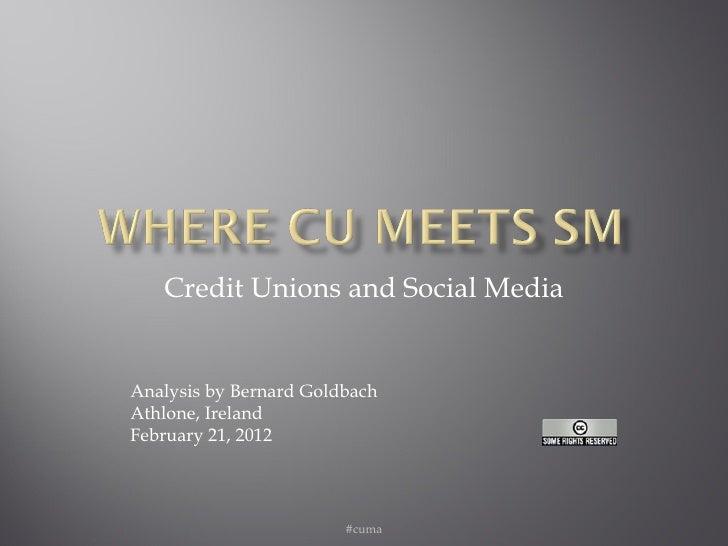 Where Credit Unions Meet Social Media