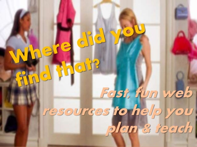 Fast, fun web resources to help you plan & teach