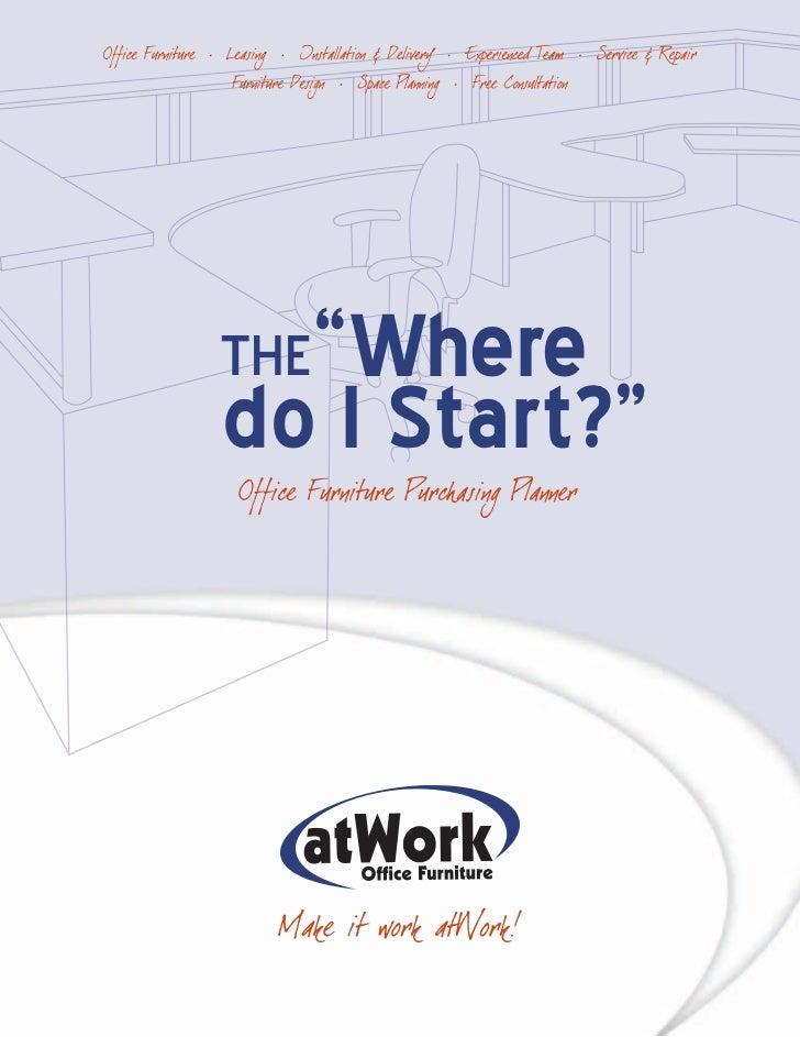 "THE""Wheredo I Start?"""