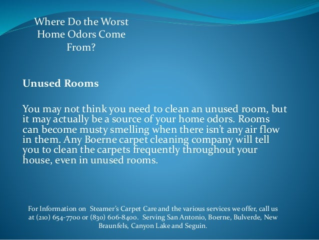 Where Do The Worst Home Odors Come From