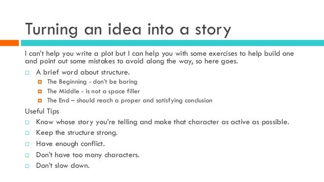 How to Organize Your Story Ideas