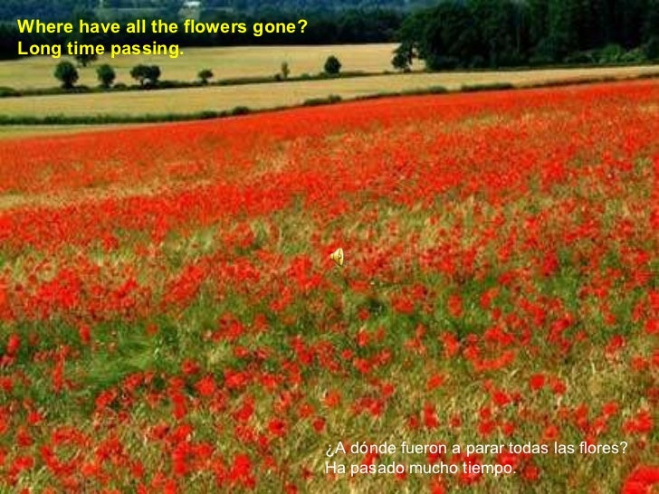 how to play where have all the flowers gone