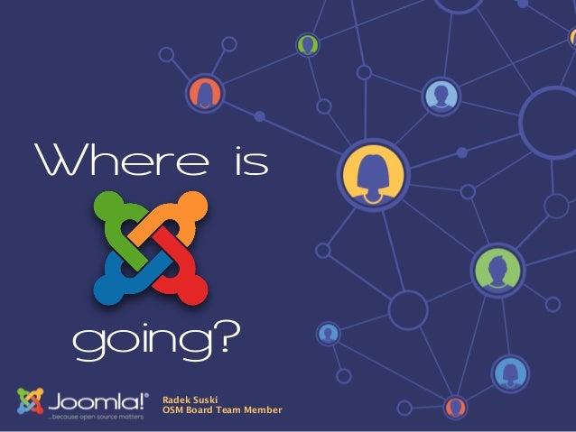 Where is  going?  Radek Suski  OSM Board Team Member