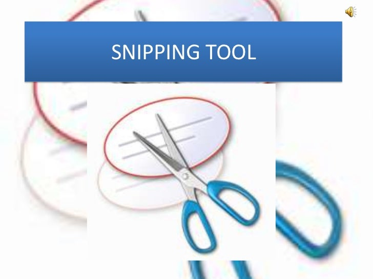 SNIPPING TOOL TÉLÉCHARGER