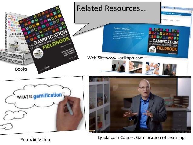 "Karl Kapp - Identifying the ""Learning"" Elements in Games Slide 3"