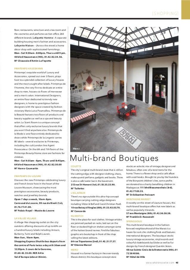 Magazine Where Paris n°248, english edition, daté septembre 2014, Jea… 37dc490e5270