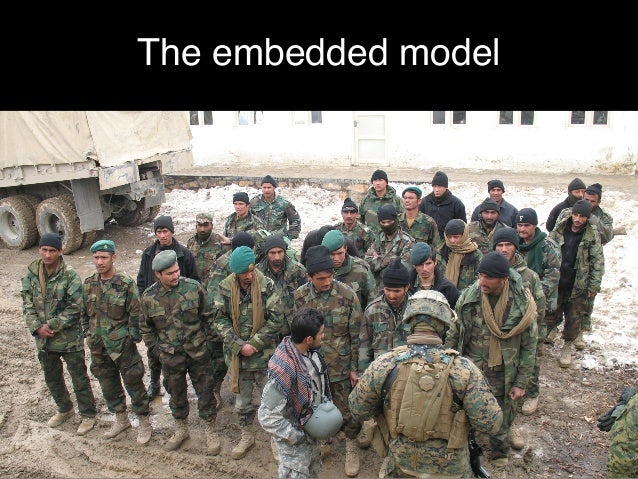 The embedded model