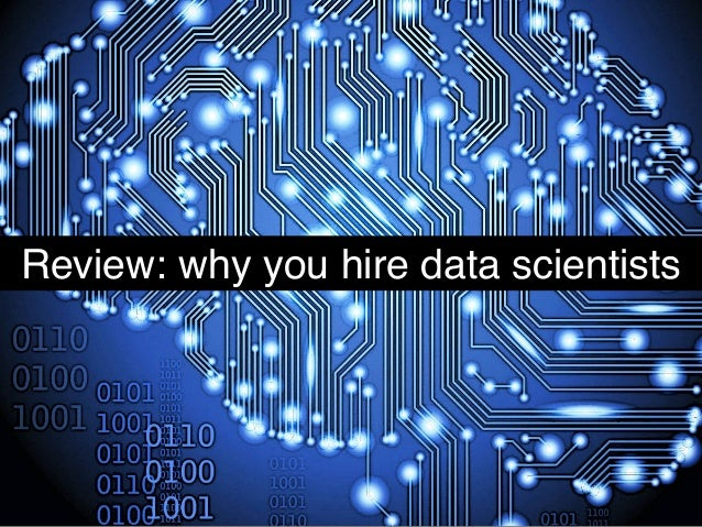 Review: why you hire data scientists