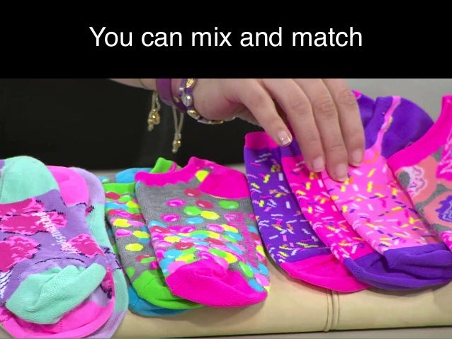You can mix and match