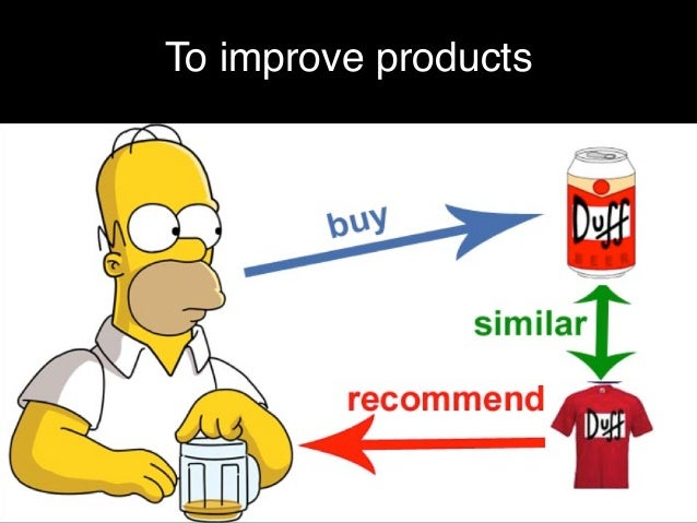 To improve products