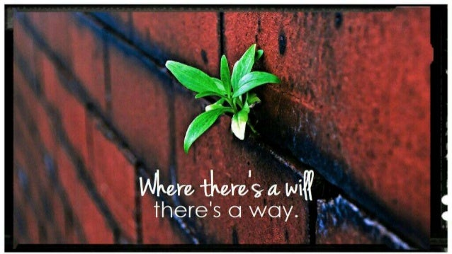 Image result for photos of where theres a will theres a way