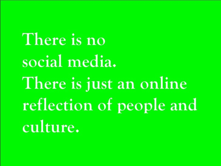 It's about the  Social part.
