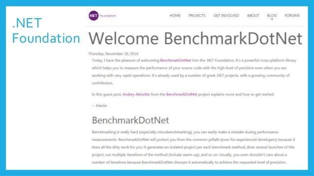 Proper docs! benchmarkdotnet.org/