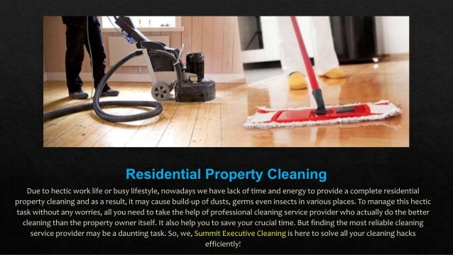 Where to Avail Professional Residential Cleaning Service in Summit County? Slide 2