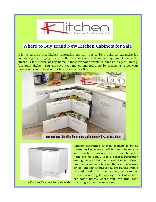 Where to buy brand new kitchen cabinets for sale for New kitchen units for sale