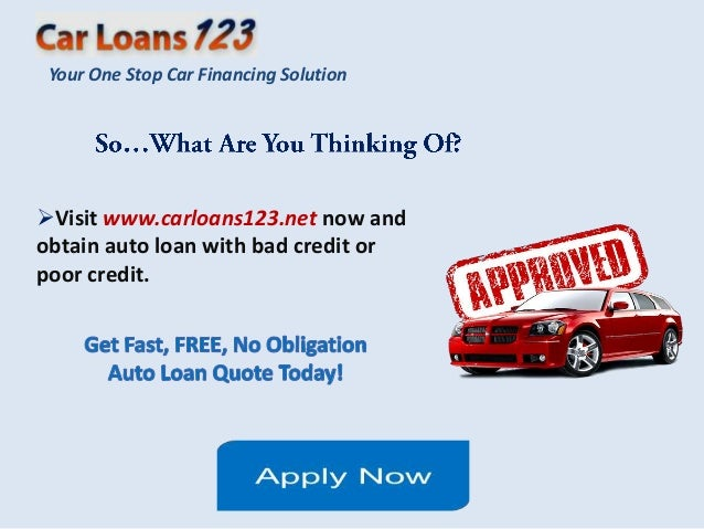 Best car loan rates for poor credit 12