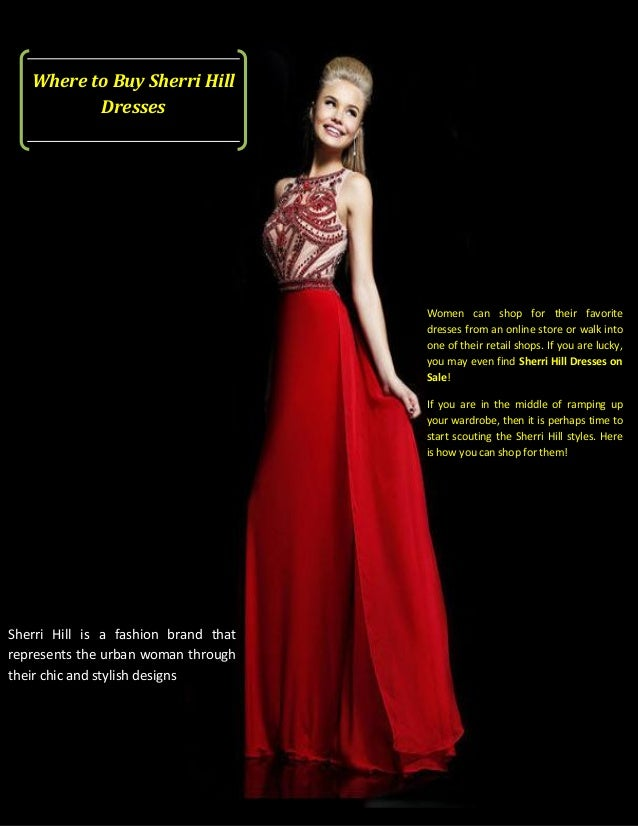 Places to Buy a Red Dress