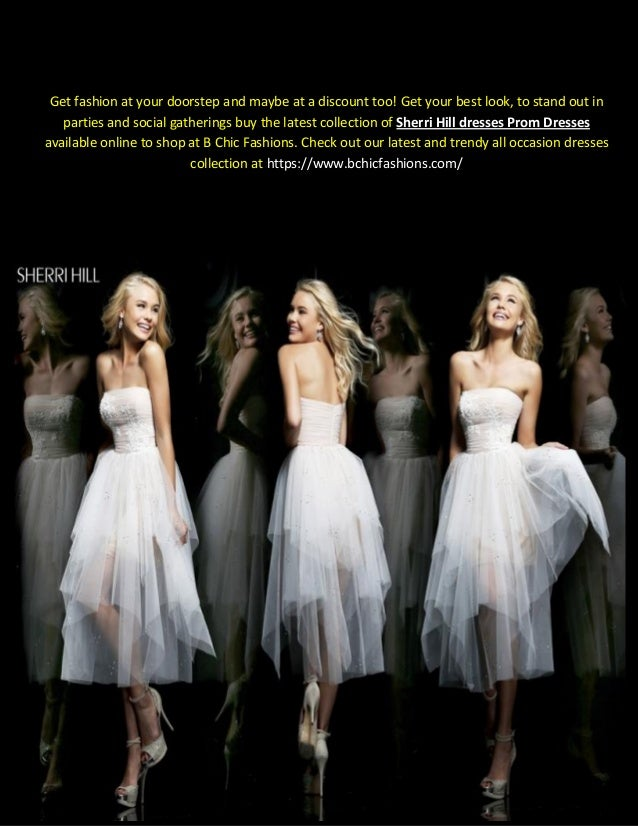 Where To Buy Sherri Hill Dresses