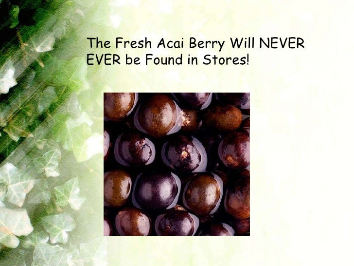 where can i buy acai fruit