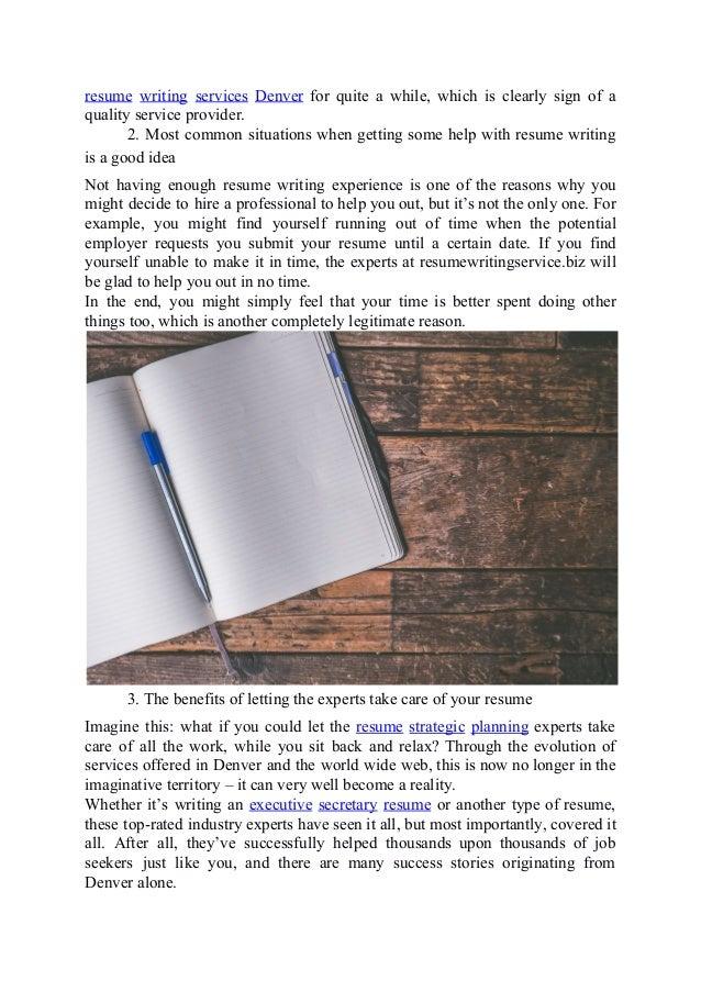 Resume Services Denver. Resume En Resume Resume Writing Services .