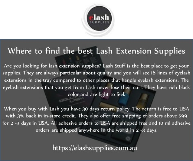 Where to find the best lash extension supplies