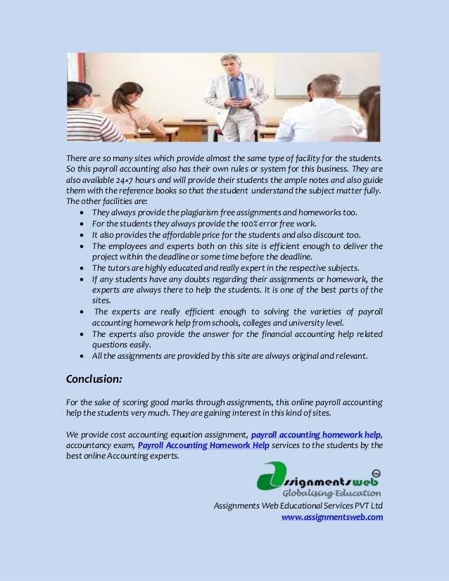 Payroll accounting problem | Accounting homework help - Academicscope