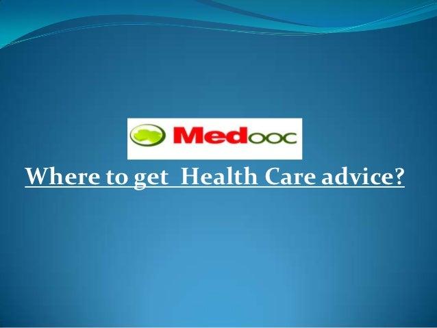 where to get advice