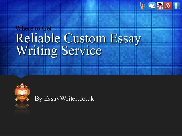 Reliable essay writing service