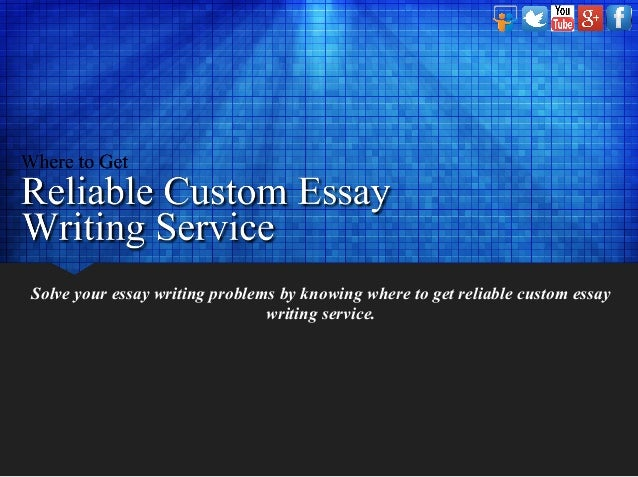 Essay writing service reliable