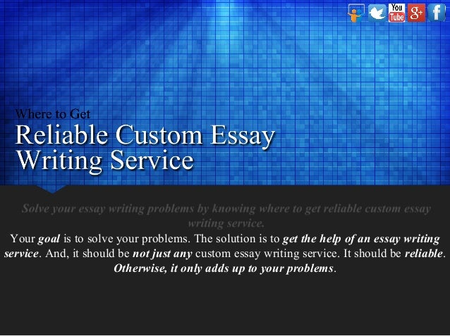 Which essay writing service is reliable