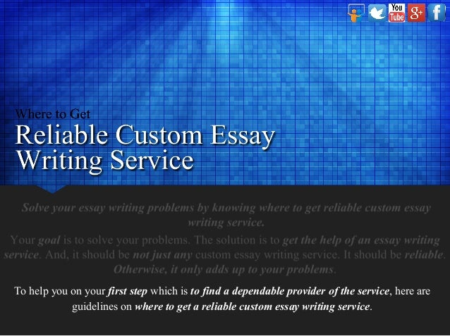 Best custom essay writing service is what we are