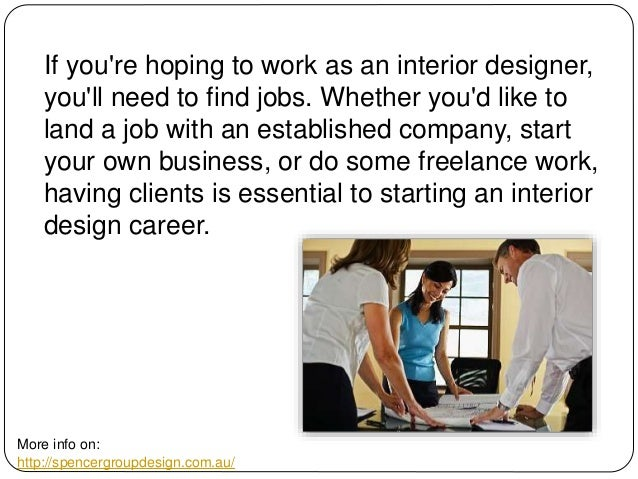 Where To Look For Interior Design Jobs 2