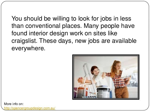 Where To Look For Interior Design Jobs